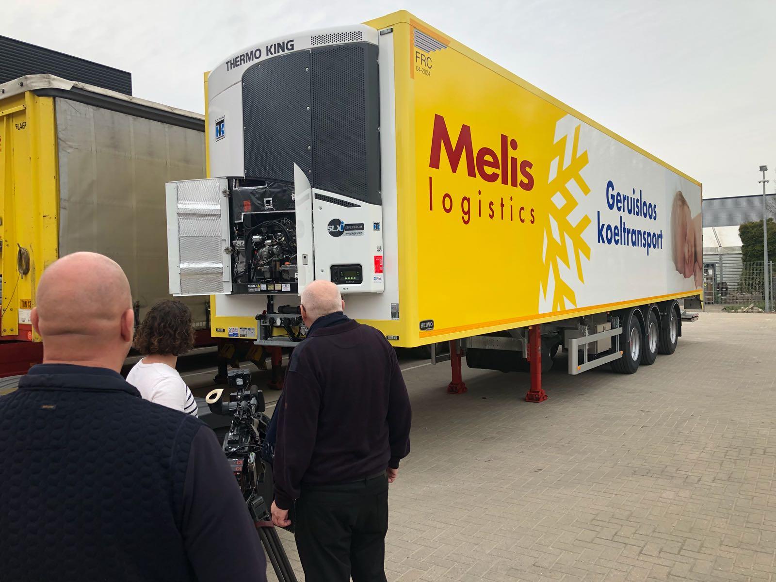 Melis Logistics koeltrailer
