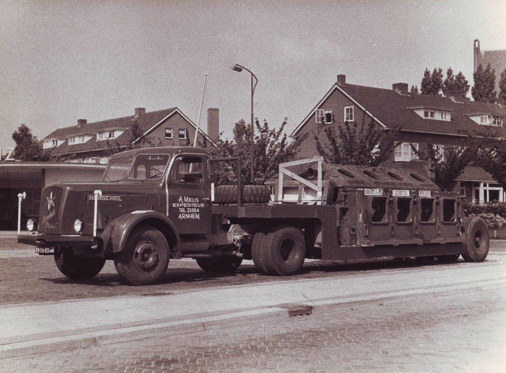 Melis Transport historie