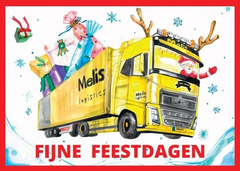 Kerstkaart Melis Logistics