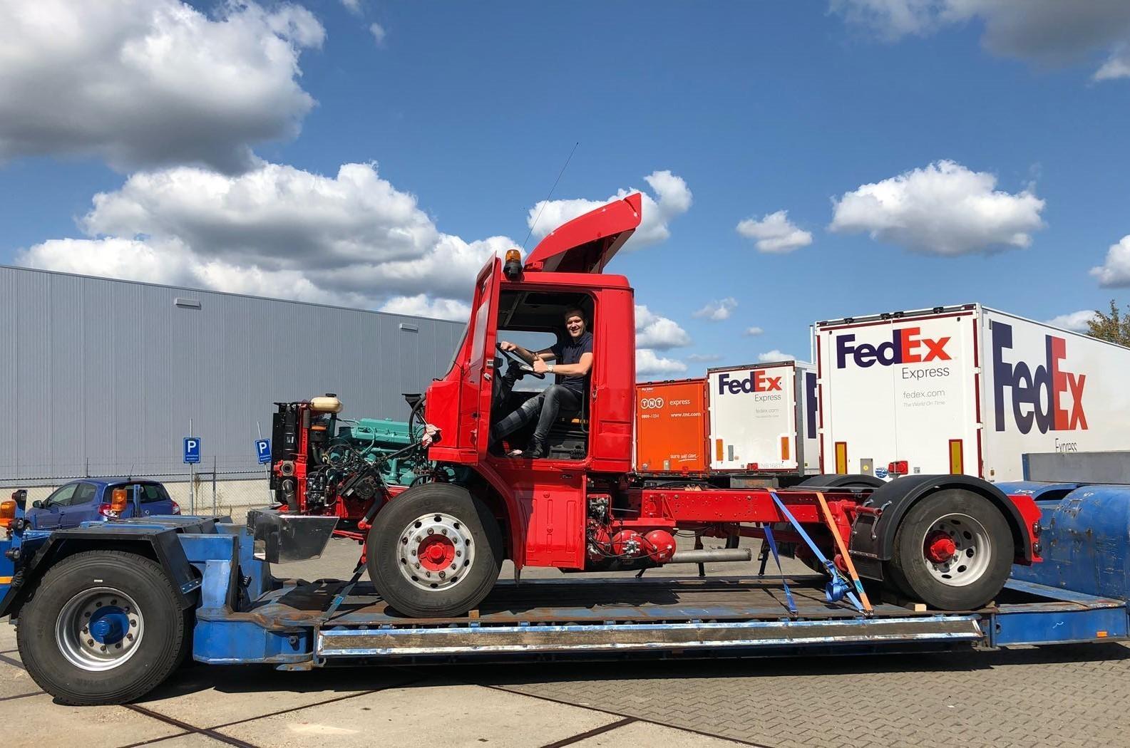 Melis Logistics Scania Neus