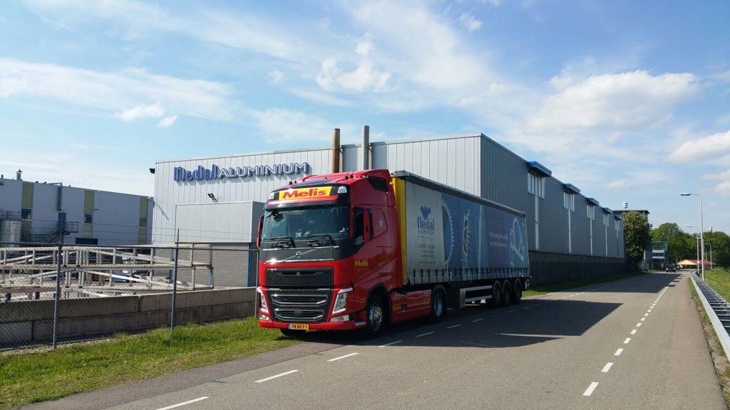 Nedal Aluminium Melis Logistics